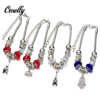bulk european bead - Charming European Pandora Style Charm Bracelets Fashion Snake Chain Bracelet Wedding Jewelry Christmas Gift in Bulk Cheap