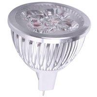 Wholesale Hot MR16 V W x1W LED Spot light lamp Cool white bulb spotlight Aluminum zinc metal alloy High Quality