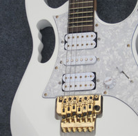 Wholesale Personal Tailor white Electric guitar have White shield Rosewood Fingerboard you Can send picture customization