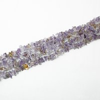 ametrine jewelry rings - Chips Beads Freeform Ametrine gravel Bead Natural Stone Fashion Jewelry Beads Jewelry Making Diy Bracelet Strand quot BTB733
