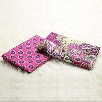 fabric - VB cotton cloth cotton fabrics textile fabrics DIY Big pink flowers fashion clothing ordering fabrics