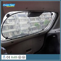 Wholesale Car Windshield Sun Shade New Car Styling Nylon Car Rear Back Window Sunscreen Sunshade UV Protect Car Window Film