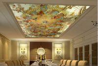Wholesale d mural ceiling mural fashion modern ceiling ktv oil painting wallpaper Custom sizes