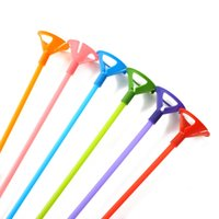 balloon stick holder - Sets Plastic Balloons Holder Support Sticks cm amp Balloons Props Wedding Party Keep Balloon Up Multi Colors