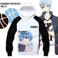 basket jacket - anime Kuroko No Basket hoodie Kuroko s Basketball cosplay Tetsuya hoodies fleece thicken velvet jacket WY