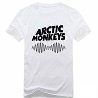 bands lyrics - T Shirt Men Fashion Arctic Monkeys Song Lyrics Rock Music Band Printed Tee T shirts Cotton Causul White Shirts Graphic