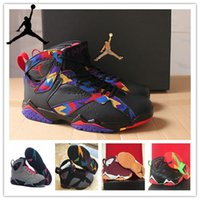 bunnies - nike dan Retro Marvin the Martian basketball Shoes jordan VII HARE Bugs Bunny Athletic boots men sneakers for sale