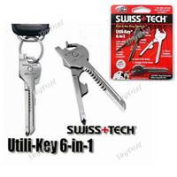Wholesale 10pcs New In Utili Key Mini Multitool Keyring Pocket Knife Folding Knife