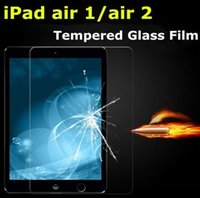 Wholesale 2 D H mm Tempered Glass Screen Protector For iPad Air1 glass Film for iPad mini1