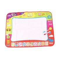 Wholesale 1pc Kids Water Drawing Painting Writing Board Magic Pen Doodle Graffiti Mat Newest