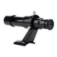 Wholesale New x24 Finderscope With Bracket Telescope Accessory Plastic Black W2077A