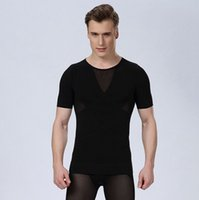 Wholesale new high quality mens waist training corsets mens bodysuit underwear shapewear slimming body shapers
