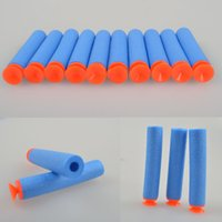 gun safe - 2015 Children Toys Nerf N strike CM High quality Safe Blue Foam Toy Universal Gifted EVA Soft Gun Bullets