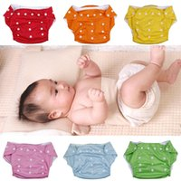 3-9 Months cloth diapers baby - Boy Girl Waterproof TPU Baby Cloth Diaper Stretchy Sna fastener Adjustable Washable Reusable Infant Napkin Nappy DLG