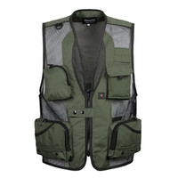 age horses - Fall Middle aged and old male autumn fashion Mesh code much fertilizer increased outdoor leisure vest pocket horse photography