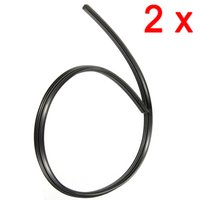 Wholesale Brand New Black Auto Car Vehicle Insert Rubber Wiper Blade Refill mm order lt no track