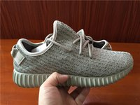 Cheap Kanye West Running Shoes Boost 350 Basketball Shoes Mens Black Running Shoe Top Sneakers Womens Basketball Shoes