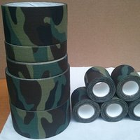 Wholesale Camouflage Hunting Tape Fabric Duct Tape Camo Waterproof Insulated Cloths Tape M