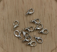 Wholesale Hot sell mm mm mm mm mm Tibetan Silver Alloy Lobster Clasps Jewelry DIY