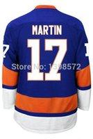 cod - 30 Teams COD Matt Martin Jersey stitched New York Martin newest White blue hockey Jersey no tax