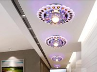 Wholesale 3w modern led ceiling lights for bedroom led living room lamp v V V light fixtures lustres de cristal