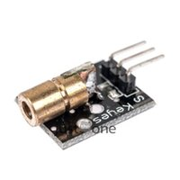 arduino laser - 650nm Laser sensor Module mm V mW Red Laser Dot Diode Copper Head for Arduino