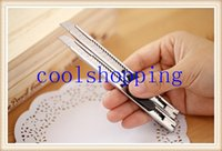 Wholesale DHL Freeshipping Mini portable utility knife cutter for home office x acto cutter knife mm