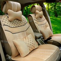 cushion fat pad - Ice hemp factory direct new car seat cushion pad of a generation of fat Seasons large favorably