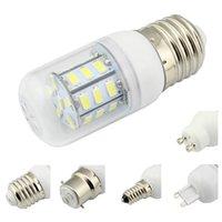 Wholesale Led Lamp E27 E14 E26 E12 B22 G9 GU10 SMD AC DC V V Corn Bulb V V Chandelier White Warm White Energy Saving