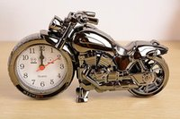 Wholesale Super Cool Motorcycle Alarm Clock Watch Shape Creative Retro Gifts Upscale Furnishings Boutique