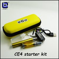 Cheap Replaceable ce4 clearomizer Best 2.0ml Glass ce4 kit