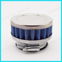 Wholesale Blue mm Air Filter For Pocket Dirt Pit Dirt Bike Mini Moto Gas Scooter Motorcycle ATV Quad order lt no track