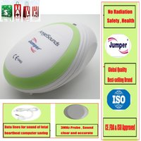 Wholesale 2015 Baby Fetal Doppler Angel Sound Heart Monitor Portable Angelsounds Detector