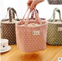 Wholesale 50pcs CCA3221 High Quality Fresh Lunch Container Bag Picnic Pouch Handbags Thermal Insulated Cooler Bag Lunch Box Tote Portable Lunch Bag