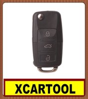 Wholesale car Auto key for Button Remote Key MHZ For VW