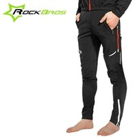 Wholesale ROCKBROS Spring Summer Outdoor Sports Cycling Ciclismo Bicycle Casual Pants Multifunction Sportswear Bike Reflective Tights New Hot Sale