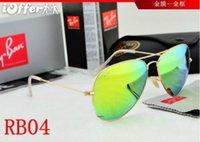 Wholesale RB new RB8 ray AVIATOR hoesale Designer Sunglasses Fashion Top Quatily Women Sunglasses Retro ban Sun Glasses For U400 Men Women
