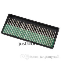 Wholesale 30PCS Set Diamond Burrs For Dremel Rotary Tool Drill Deburring And Engraving Bit