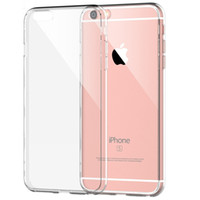 For Apple iPhone apples border - For Apple iPhone s Plus Case Slim Crystal Clear Acrylic Hard Back TPU Soft Border Dustproof plug in Protective sleeve cover cases S6