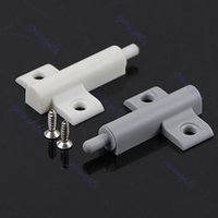 Wholesale Set Gray Kitchen Cabinet Door Drawer Soft Quiet Close Closer Damper Buffers Screws PY order lt no track