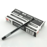 Wholesale 12pcs Neutral pen Office stationery Financial writing mm NIB Durable economy Smooth writing Gel Pens black blue red
