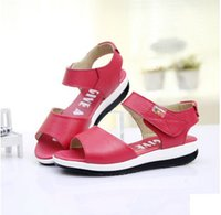 Wholesale Children Sandals Summer new Children s shoes fashion leather waterproof shoes for year old