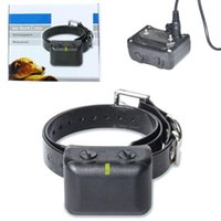 Wholesale New Pet Supplies US EU Waterproof Rechargeable Medium Large Anti Bark No Barking Dog Shock Collar T0678 SYSR