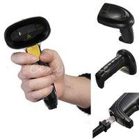 Wholesale NEW Black G M Wireless Handheld Laser Scan Barcode Bar Code Scanner Reader Gun POS High Quality order lt no track