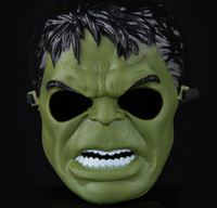 animate party supplies - 2015 Animated cartoon The incredible hulk mask Party Decoration halloween decoration masquerade party supplies for Children and adult