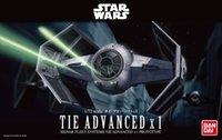 advanced assembly - Star Wars Bandai Tie Advanced X1 assembly model