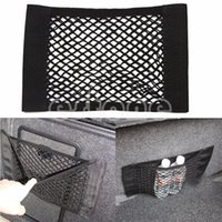 Wholesale Hot Sale PC Car Back Rear Trunk Seat Elastic String Net Mesh Storage Bag Pocket Cage