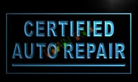 auto repair shop sign lighted - LM114 TM Certified Auto Repair Car Shop Neon Light Sign Advertising led panel
