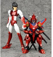 assembly of god - DATONG model assembly anime Ronin Warriors Yoroiden Samurai Troopers Flame of God Ryo marvel action figure toy Collectibles