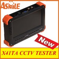 Wholesale Best inch X41TA TFT LCD CCTV Monitor Tester Security Surveillance Camera Tester Video Tester from asmile